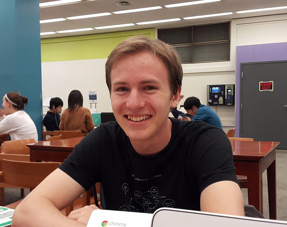 Jesse Kaminsky : Undergraduate Researcher