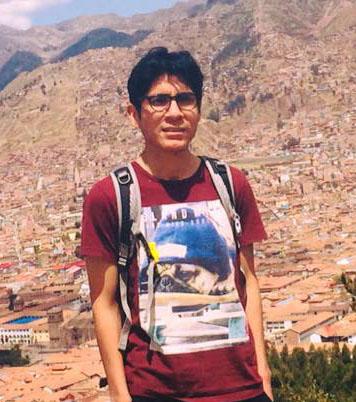 Georcki Ropón-Palacios : Master's Student (Univ. Estadual de Santa Cruz, Ilhéus, Bahia, Brazil)